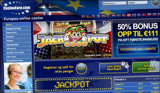 Casino euro bonus