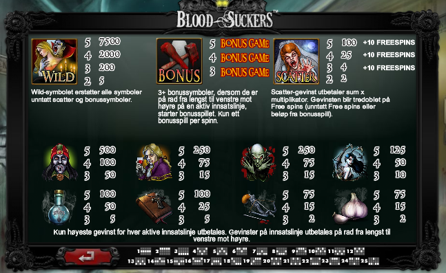 bloodsuckers casino