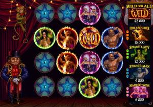 Twisted circus bonus runde