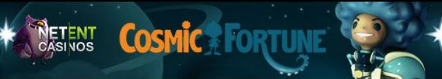 Cosmic Fortune fra NetEnt lanseres 24. november!