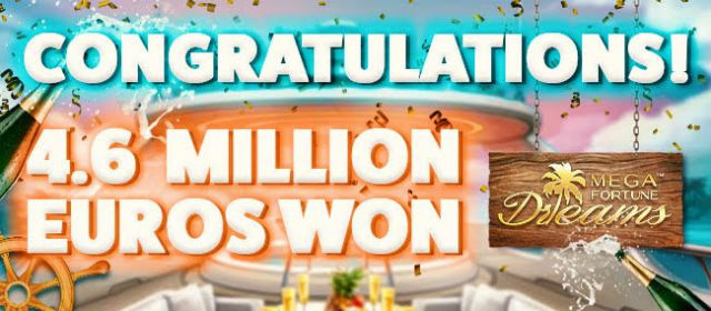 Svenske vant 46 mill kr på Mega Fortune Dreams!