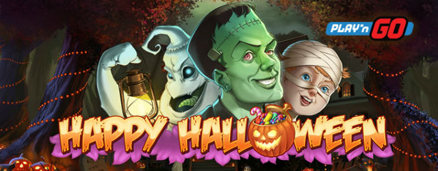 Ny spilleautomat fra Play'n GO – Happy Halloween!